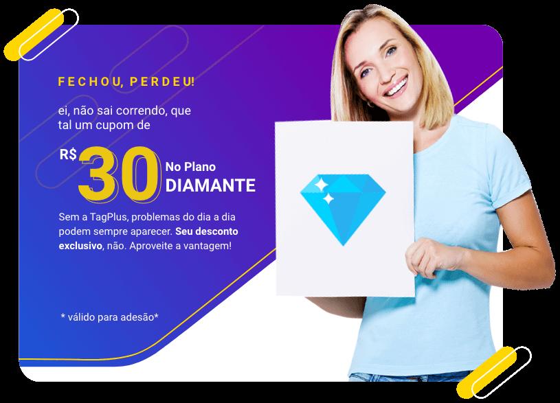 Promoção TagPlus Diamante