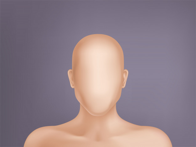 um manequim sem rosto - o que seria da marca sem a identidade visual.